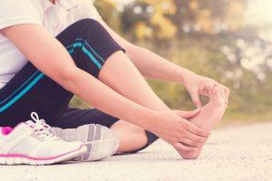 stopa sportowca